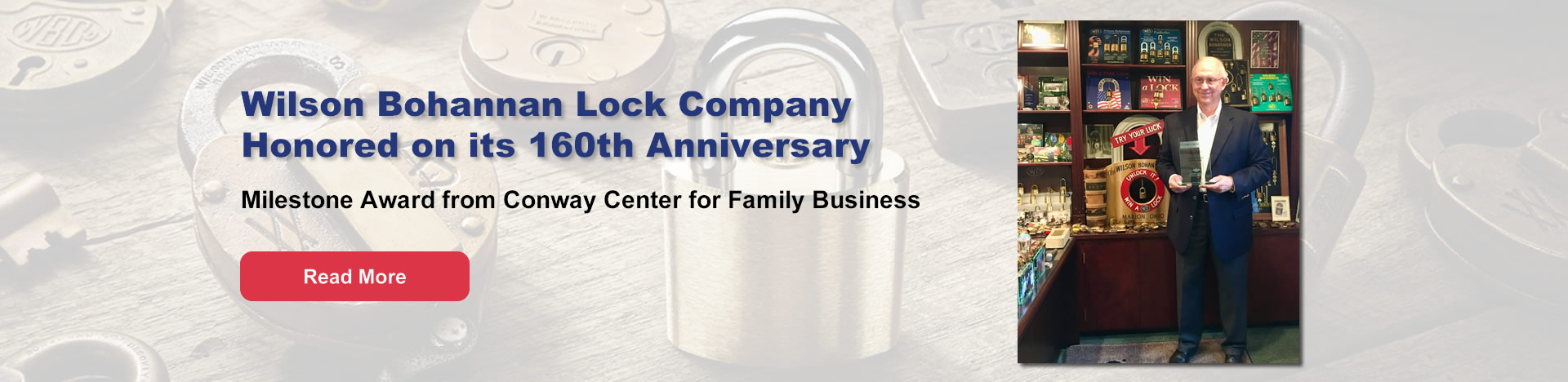 Conway Center for Family Business Award Winner
