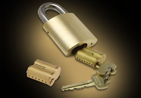 IC Core Padlocks
