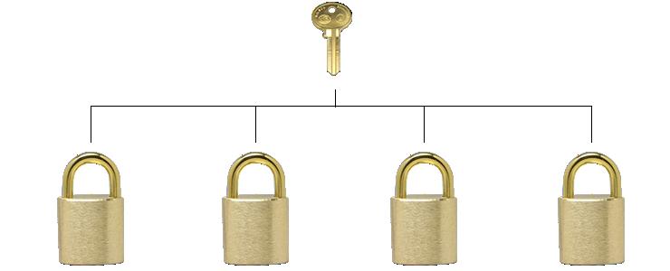 The Wilson Bohannan Lock Company Special Features Keys